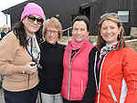 Tracy Pentony, Paula Reynolds, Ailish Finan and Martha Nolan pictured at the Captain's Drive in at Seapoint Golf Club. Photo:Colin Bell/pressphotos.ie