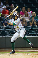 Jose Martinez (24) of the Lynchburg Hillcats at bat against the Winston-Salem Dash at BB&T Ballpark on August 13, 2014 in Winston-Salem, North Carolina.  The Hillcats defeated the Dash 4-3.   (Brian Westerholt/Four Seam Images)