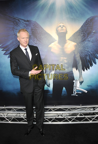 "PAUL BETTANY.World Premiere of ""Legion"" held at The Arclight Cinerama Dome in Hollywood, California, USA..January 21st, 2010.full length suit jacket shirt hand in pocket black white.CAP/RKE/DVS.©DVS/RockinExposures/Capital Pictures."