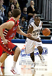 January 21, 2012:   Nevada Wolf Pack guard Malik Story brings the ball up the floor against the Fresno State Bulldogs during their NCAA basketball game played at Lawlor Events Center on Saturday night in Reno, Nevada.