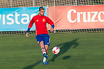 Victor Camarasa during the training of Spanish national team under 21 at Ciudad del El futbol  in Madrid, Spain. March 21, 2017. (ALTERPHOTOS / Rodrigo Jimenez)