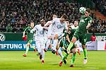 11.02.2018, Weserstadion, Bremen, GER, 1.FBL, SV Werder Bremen vs VfL Wolfsburg<br /> <br /> im Bild<br /> Max Kruse (Werder Bremen #10) mit Torchance, <br /> <br /> Foto &copy; nordphoto / Ewert