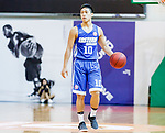 Yang Ricky #10 of Eastern Long Lions dribbles the ball up court against the Fukien during the Hong Kong Basketball League game between Fukien and Eastern Long Lions at Southorn Stadium on June 19, 2018 in Hong Kong. Photo by Yu Chun Christopher Wong / Power Sport Images