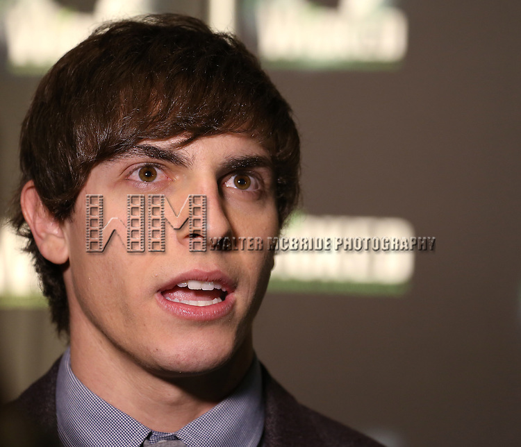 Derek Klena  attending the 10th Anniversary Celebration Party for 'Wicked'  at the Edison Ballroom on October 30, 2013  in New York City.