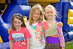 Pictured at the Tralee Rugby Club fun day on Saturday were l-r Janna Fitzgibbon, Ciara Sharp, Paivi Dowds