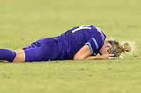 Houston, TX - Saturday Sept. 03, 2016: Becky Edwards during a regular season National Women's Soccer League (NWSL) match between the Houston Dash and the Orlando Pride at BBVA Compass Stadium.