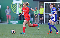Portland, OR - Saturday May 27, 2017: Allie Long during a regular season National Women's Soccer League (NWSL) match between the Portland Thorns FC and the Boston Breakers at Providence Park.