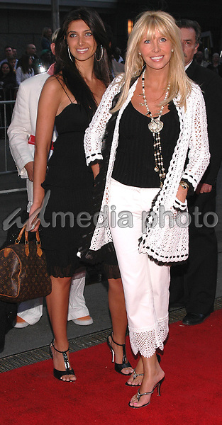 12 May 2005 - New York, New York - Gastineau Girls, Lisa and Brittny arrive at the premiere of &quot;Star Wars III Revenge of the Sith&quot; at the Ziegfeld Theater in Manhattan.<br />