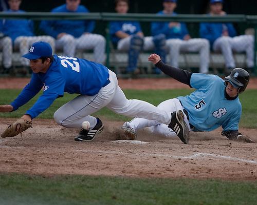 St. Joe Varsity Baseball 2009. St. Joe vs. Marian