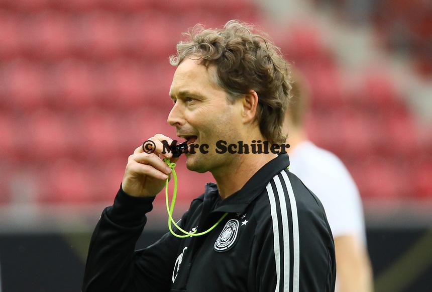 Interims-Bundestrainer Marcus Sorg (Deutschland Germany) - 10.06.2019: Abschlusstraining der Deutschen Nationalmannschaft vor dem EM-Qualifikationsspiel gegen Estland, Opel Arena Mainz