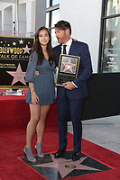 LOS ANGELES - OCT 24:  Charlotte Connick, Harry Connick Jr at the Harry Connick Jr. Star Ceremony on the Hollywood Walk of Fame on October 24, 2019 in Los Angeles, CA