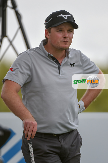 Eddie Pepperell (ENG) looks over his tee shot on 3 during day 2 of the WGC Dell Match Play, at the Austin Country Club, Austin, Texas, USA. 3/28/2019.<br /> Picture: Golffile   Ken Murray<br /> <br /> <br /> All photo usage must carry mandatory copyright credit (© Golffile   Ken Murray)
