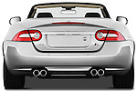 Straight rear view of a 2011 Jaguar XKR Convertible