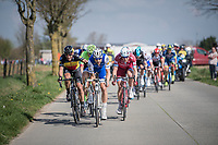 Tom Boonen (BEL/Quick-Step Floors) & Philippe Gilbert (BEL/Quick Step floors) set the pace in the leaders group<br /> <br /> 101th Ronde Van Vlaanderen 2017 (1.UWT)<br /> 1day race: Antwerp › Oudenaarde - BEL (260km)