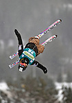 16 January 2009: Martina Konopova from the Czech Republic performs aerial acrobatics during the FIS Freestyle World Cup warm-ups at the Olympic Ski Jumping Facility in Lake Placid, NY, USA. Mandatory Photo Credit: Ed Wolfstein Photo. Contact: Ed Wolfstein, Burlington, Vermont, USA. Telephone 802-864-8334. e-mail: ed@wolfstein.net