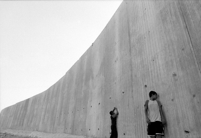 PALESTINE, WALL, WEST BANK