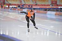 OLYMPICS: SOCHI: Adler Arena, 08-02-2014, training, Ronald Mulder (NED), ©foto Martin de Jong