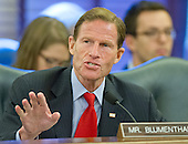 United States Senator Richard Blumenthal (Democrat of Connecticut) asks a question during testimony before the U.S. Senate Committee on Commerce, Science, and Transportation on several nominations on Capitol Hill in Washington, D.C. on Wednesday, June 11, 2014. <br /> Credit: Ron Sachs / CNP