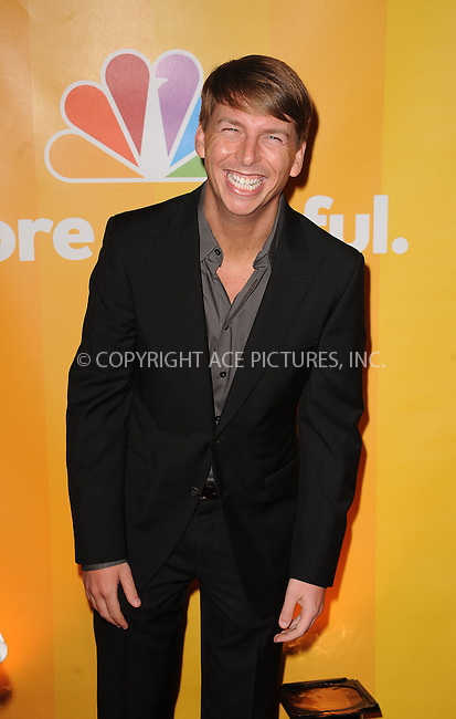 WWW.ACEPIXS.COM . . . . . ....May 17 2010, New York City....Jack McBrayer at the 2010 NBC Upfront presentation at The Hilton Hotel on May 17, 2010 in New York City.....Please byline: KRISTIN CALLAHAN - ACEPIXS.COM.. . . . . . ..Ace Pictures, Inc:  ..tel: (212) 243 8787 or (646) 769 0430..e-mail: info@acepixs.com..web: http://www.acepixs.com