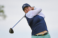 Angel Yin (USA) watches her tee shot on 2 during the round 3 of the KPMG Women's PGA Championship, Hazeltine National, Chaska, Minnesota, USA. 6/22/2019.<br /> Picture: Golffile | Ken Murray<br /> <br /> <br /> All photo usage must carry mandatory copyright credit (© Golffile | Ken Murray)
