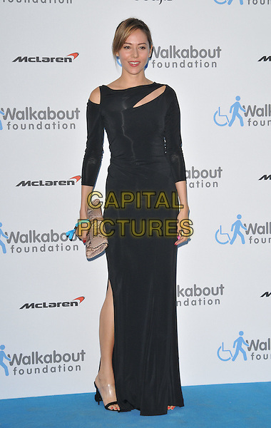 LONDON, ENGLAND - JUNE 27: Jessica Michibata attends the Walkabout Foundation's Inaugural Gala, Natural History Museum, Cromwell Rd., on Saturday June 27, 2015 in London, England, UK. <br /> CAP/CAN<br /> &copy;Can Nguyen/Capital Pictures