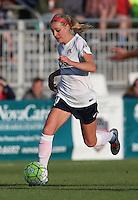 Boyds, MD - Saturday May 14, 2016: Washington Spirit defender Megan Oyster (4) during a regular season National Women's Soccer League (NWSL) match at Maureen Hendricks Field, Maryland SoccerPlex. The Washington Spirit defeated the Houston Dash 1-0.