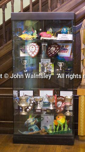 Trophy cabinet, state Roman Catholic Secondary School.