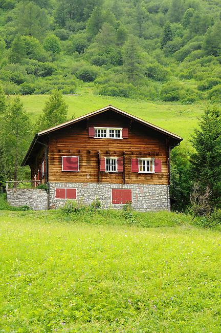 Chalet, Ferienhaus, Malbun, Fürstentum Liechtenstein, Principality of Liechtenstein.