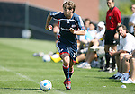 17 June 2007: New England's Chris Loftus. The New England Revolution Reserves defeated the Columbus Crew Reserves 2-1 on the Gillette Stadium practice field in Foxboro, Massachusetts in a Major League Soccer Reserve Division game.