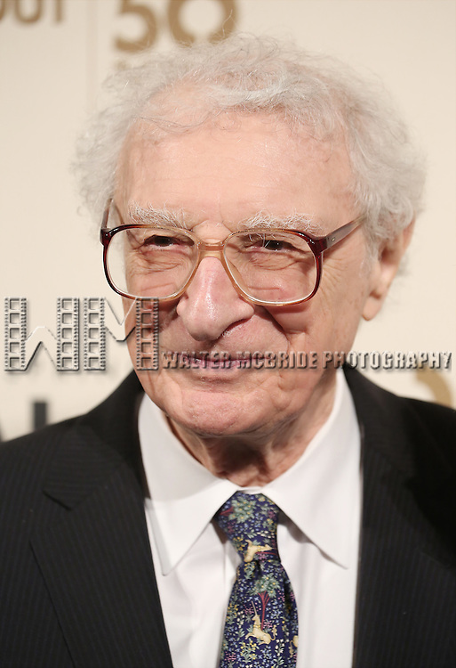 Sheldon Harnick attends the Roundabout Theatre Company's  50th Anniversary Gala at The Waldorf-Astoria on February 29, 2016 in New York City.