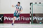Stockholm 2014-03-02 Handboll Elitserien Hammarby IF - Ystads IF :  <br /> Hammarbys Kasper Ottesen jublar efter att ha gjort ett m&aring;l<br /> (Foto: Kenta J&ouml;nsson) Nyckelord:  Ystad Bajen HIF jubel gl&auml;dje lycka glad happy