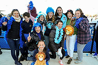 Fans at the Rankin Cup final between King's High School and Timaru Boys High at the Rankin Cup and India Shield 2019 Secondary School Hockey Tournament, Nga Puna Wai Sports Hub, Christchurch, Saturday 07 September 2019. Photo: Martin Hunter/Hockey NZ