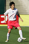 11 February 2006: Korea's Kim Nam-Il. The Costa Rica Men's National Team defeated South Korea 1-0 at McAfee Coliseum in Oakland, California in an International Friendly soccer match.