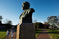 Stephen D. Lee statue on Drill Field<br />  (photo by Megan Bean / &copy; Mississippi State University)
