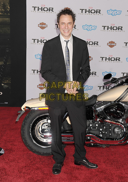 HOLLYWOOD, CA - NOVEMBER 04: James Gunn at the Los Angeles Premiere 'Thor: The Dark World' at the El Capitan Theatre on November 4, 2013 in Hollywood, California, USA.<br /> CAP/ROT/TM<br /> &copy;Tony Michaels/Roth Stock/Capital Pictures