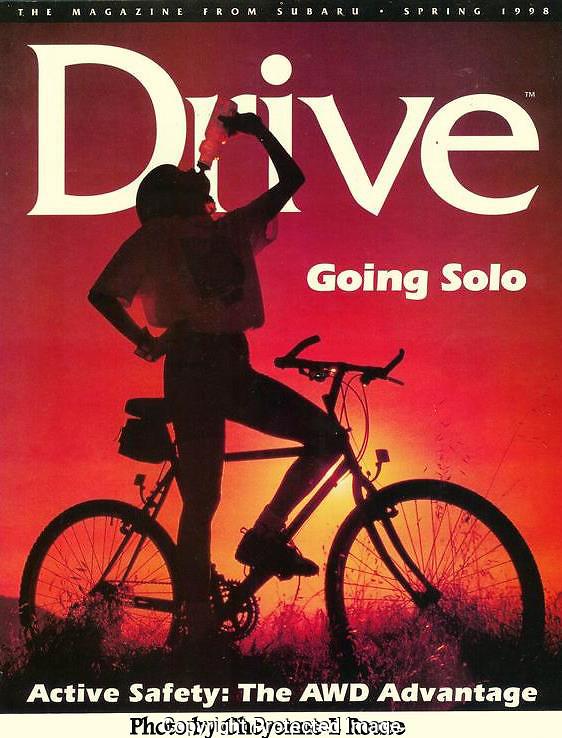 Subaru Drive Magazine<br /> Cover <br /> &copy; Cheyenne L Rouse