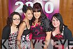 Rebecca O'Sullivan, Kelly Joy, Karina Nagle and Rosin Giles from Milltown Presentation School pictured at the Young Entrepreneur Awards at the Malton Hotel Killarney on Thursday Evening.