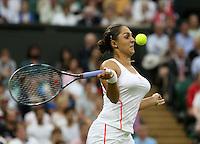 LONDRES, INGLATERRA, 27 JUNHO 2012 - TORNEIO DE WIMBLEDON - A tenista Tamira Paszek  durante torneio de Wimbledon, em Londres, Inglaterra, nesta quarta-feira, 27. (FOTO: PIXATHLON / BRAZIL PHOTO PRESS).