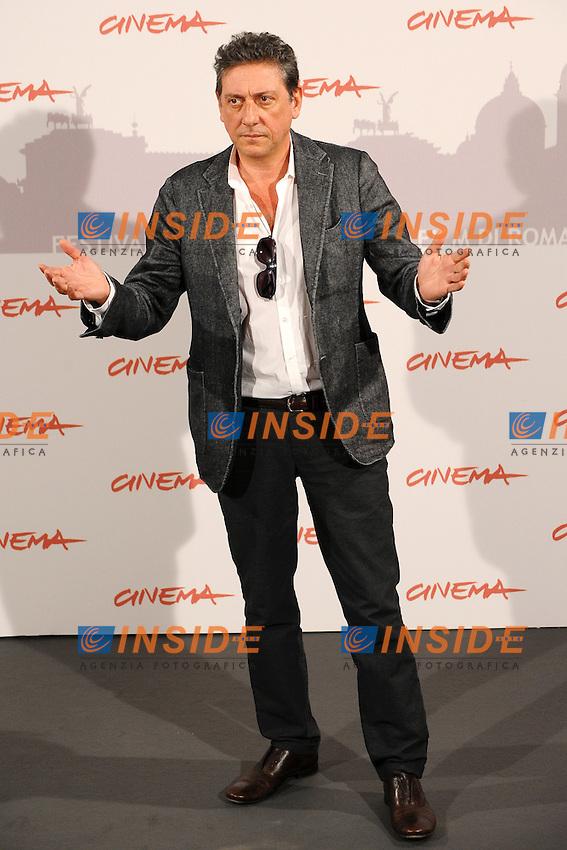 Sergio CASTELLITTO.International Giury - Giuria Internazionale.Roma 28/10/2010.Cinema - Festival Internazionale del Film di Roma.Foto Andrea Staccioli Insidefoto
