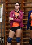 2017-10-28 / Volleybal / Seizoen 2017-2018 / Dames VC Heist-Herenthout / Amber Janssens<br /> <br /> ,Foto: Mpics.be