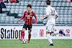 FC Seoul Midfielder Go Yo Han (l) in action during the 2017 Lunar New Year Cup match between Auckland City FC (NZL) vs FC Seoul (KOR) on January 28, 2017 in Hong Kong, Hong Kong. Photo by Marcio Rodrigo Machado/Power Sport Images