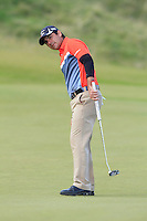Filipe Aguilar (CHI) on the 7th green during Round 3 of the 2015 Alfred Dunhill Links Championship at Kingsbarns in Scotland on 3/10/15.<br /> Picture: Thos Caffrey | Golffile
