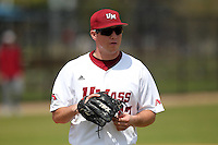 UMass Charlie Benson #17 during a game vs Indiana Hoosiers at Lake Myrtle Main Field in Auburndale, Florida;  March 16, 2011.  Indiana defeated UMass 11-10.  Photo By Mike Janes/Four Seam Images