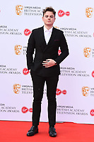 LONDON, UK. May 12, 2019: Asa Butterfield arriving for the BAFTA TV Awards 2019 at the Royal Festival Hall, London.<br /> Picture: Steve Vas/Featureflash