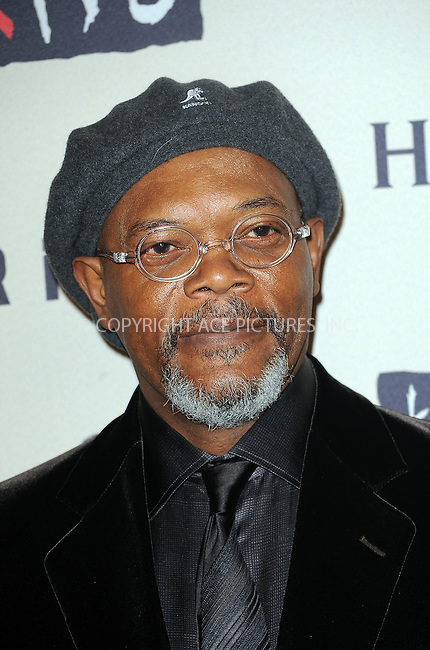 WWW.ACEPIXS.COM . . . . . ....October 15 2009, New York City....Samuel L. Jackson arriving at th  'Keep A Child Alive's 6th Annual Black Ball'  hosted by Alicia Keys and Padma Lakshmi at Hammerstein Ballroom on October 15, 2009 in New York City.....Please byline: KRISTIN CALLAHAN - ACEPIXS.COM.. . . . . . ..Ace Pictures, Inc:  ..tel: (212) 243 8787 or (646) 769 0430..e-mail: info@acepixs.com..web: http://www.acepixs.com