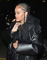 Rihanna attends the Fashion Awards 2019 afterparty at Laylow private members club in London.<br />