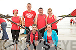 The winners of the Vet's Mixed at the Caherdaniel Regatta on Saturday were the team from Fossa pictured here front l-r; Pat Tagney, Diane Breen, back l-r; Allison Coffey, Gearoid Keating, Pat Cuff & Fiona Coffey.