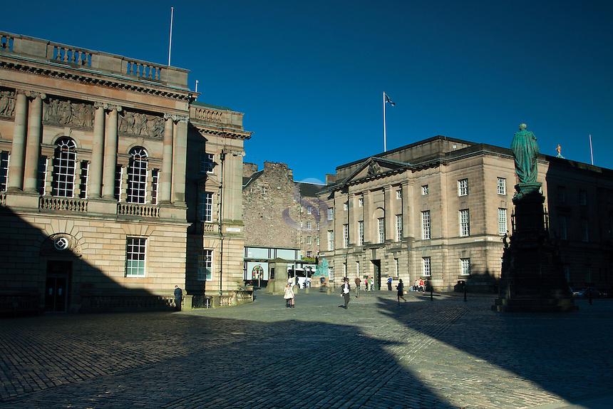 West Parliament Square, The Royal Mile, Edinburgh