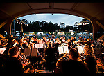 Charlotte NC - The Charlotte Civic Orchestra performs at Festival In The Park