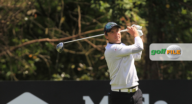 Benjamin Hebert (FRA) during Thursday's Round 1 ahead of the 2016 Dubai Duty Free Irish Open Hosted by The Rory Foundation which is played at the K Club Golf Resort, Straffan, Co. Kildare, Ireland. 19/05/2016. Picture Golffile | TJ Caffrey.<br /> <br /> All photo usage must display a mandatory copyright credit as: &copy; Golffile | TJ Caffrey.